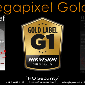 4 camera's 4 megapixel Goldlabel